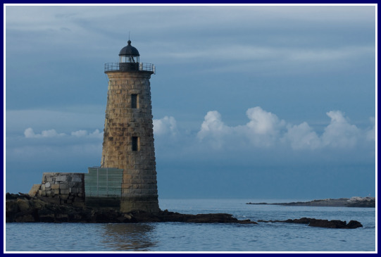 Whaleback Lighthouse In Kittery Maine The State S