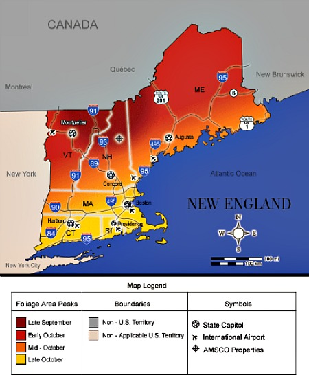 Best New England Color Tours